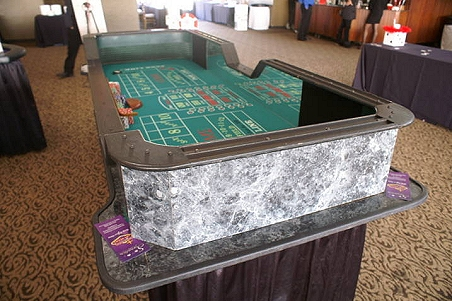 Professional casino tables by signature casino parties for 12 craps table